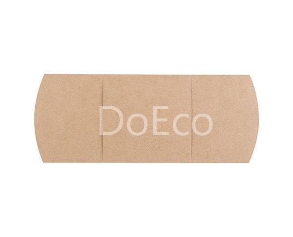eco sleeve doeco 2 600x486 - Подложки с кольцом ECO SLEEVE для сэндвичей, роллов, багетов