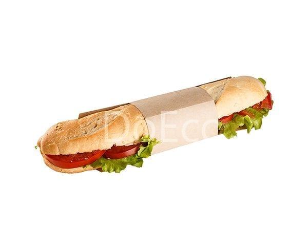 eco sleeve doeco 600x486 - Подложки с кольцом ECO SLEEVE для сэндвичей, роллов, багетов