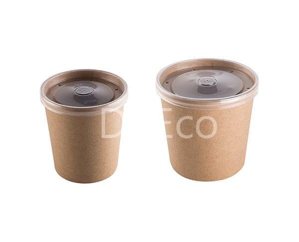 eco soup econom doeco 1 600x486 - Контейнеры для супа ECO SOUP 16C ECONOM 445 мл крафт