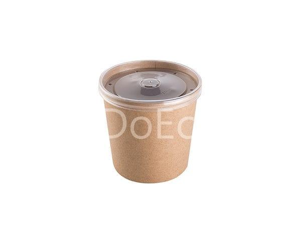 eco soup econom doeco 7 600x486 - Контейнеры для супа ECO SOUP 16C ECONOM 445 мл крафт