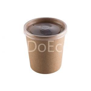 eco soup econom doeco 8 300x300 - Контейнеры для супа ECO SOUP 26C ECONOM 760 мл крафт