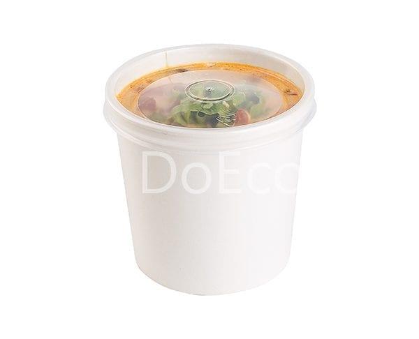 eco soup econom doeco 600x486 - Контейнеры для супа ECO SOUP 26W ECONOM 760 мл белый