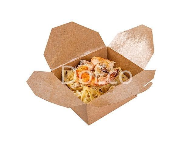 Fold box pure kraft doeco 600x486 - Фолд бокс ECO FOLD BOX 600 Pure Kraft