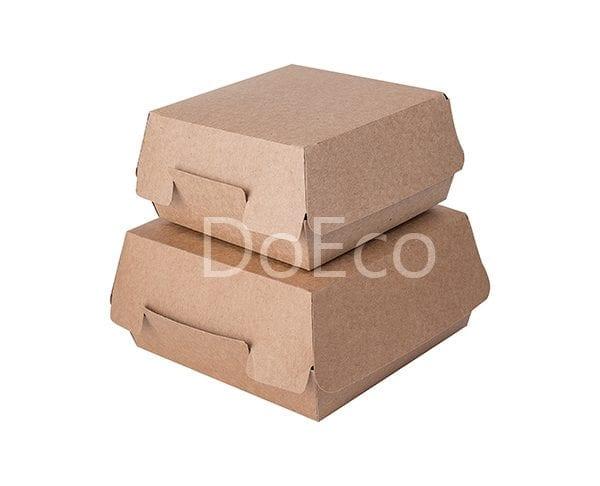 "eco burger pure kraft doeco 1 600x486 - Packaging per Burgers ""Pure Kraft"""