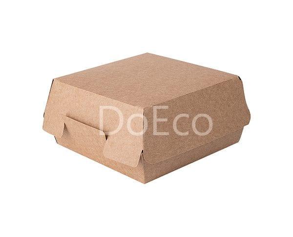 "eco burger pure kraft doeco 2 600x486 - Packaging per Burgers ""Pure Kraft"""