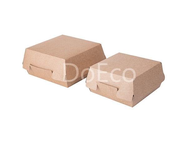 "eco burger pure kraft doeco 6 600x456 - Packaging per Burgers ""Pure Kraft"""