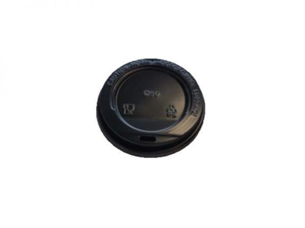 Black lid 600x450 - Крышка для стаканов CUP COVER 250 Black 80 мм чёрная
