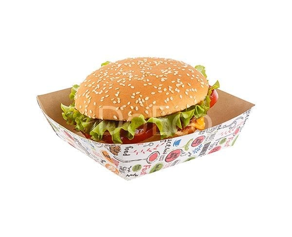 eco fast food tray enjoy doeco 1 600x486 - Лотки ECO TRAY 800 Enjoy для фаст-фуда