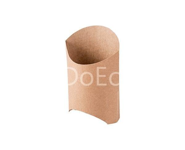 eco fries pure kraft doeco 2 600x486 - Упаковка ECO FRY M Pure Kraft для картофеля
