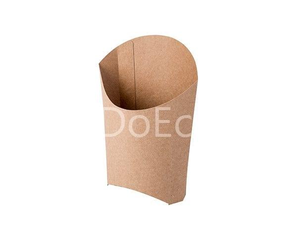 eco fries pure kraft doeco 3 600x486 - Упаковка ECO FRY M Pure Kraft для картофеля
