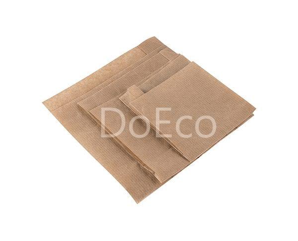 eco kraft pocket doeco 1 600x486 - Бумажные уголки ECO SANDWICH BAG M для бургеров и сэндвичей