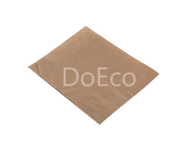 eco kraft pocket doeco 2 600x486 - Бумажные уголки ECO SANDWICH BAG M для бургеров и сэндвичей
