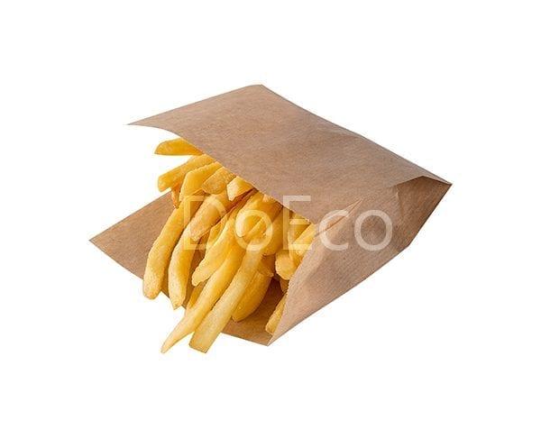 eco kraft pocket doeco 3 600x486 - Бумажные уголки ECO SANDWICH BAG M для бургеров и сэндвичей