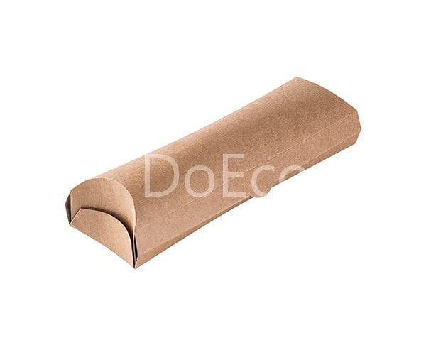 eco pillow pure kraft doeco 600x486 - Упаковка ECO PILLOW Pure Kraft для роллов