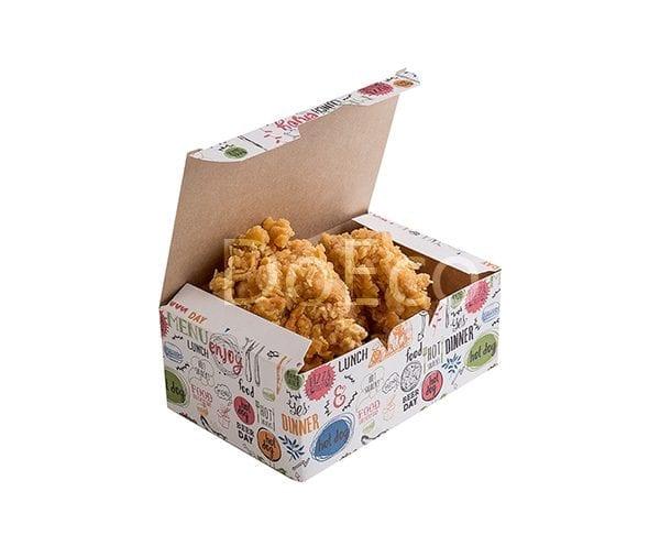 eco fast food box enjoy doeco 600x486 - Nugget Box «Enjoy»