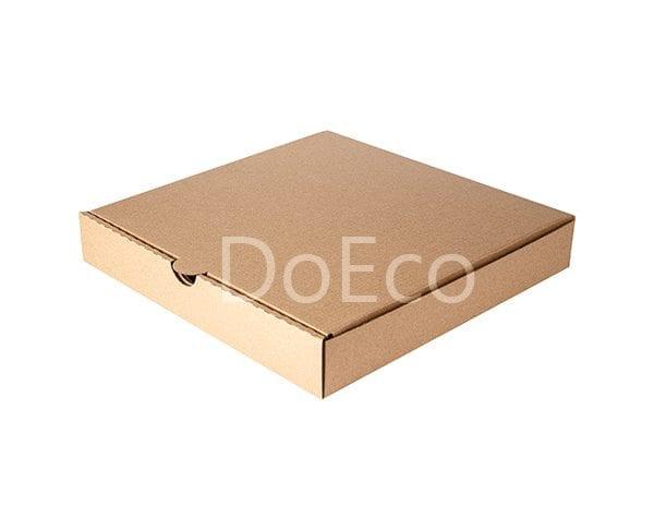 eco pizza pure kraft doeco 1 600x486 - Коробки ECO PIZZA 400 Pure Kraft для пиццы
