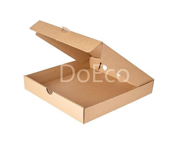 eco pizza pure kraft doeco 2 600x486 - Коробки ECO PIZZA 400 Pure Kraft для пиццы