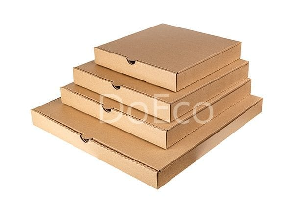 eco pizza pure kraft doeco 3 600x434 - Коробки ECO PIZZA 400 Pure Kraft для пиццы