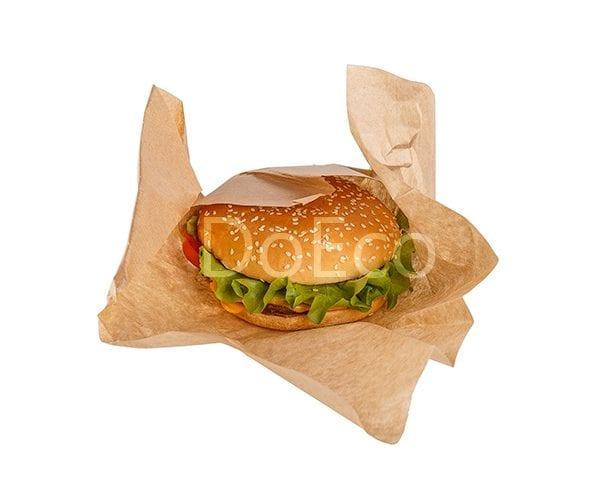 Eco papwrap doeco 600x486 - Оберточная бумага ECO PAPWRAP K 300 для сэндвичей, бургеров, фаст-фуда
