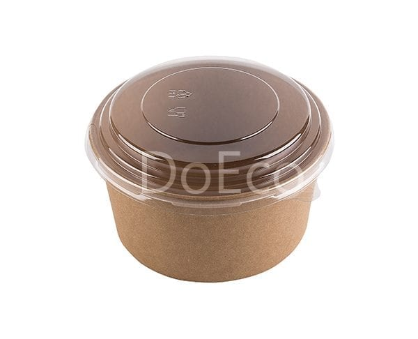 eco rcont doeco salad box 4 600x486 - Contenitore di cartone rotondo con coperchio trasparente