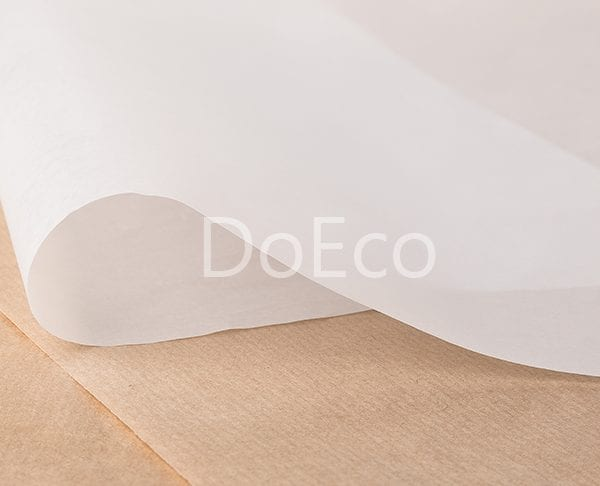 eco wraping paper doeco 1 600x486 - Оберточная бумага ECO PAPWRAP W 305 для сэндвичей, бургеров, фаст-фуда