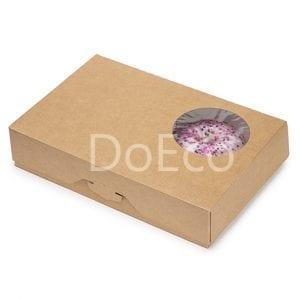 2 300x300 - Упаковка для пончиков ECO DONUTS M