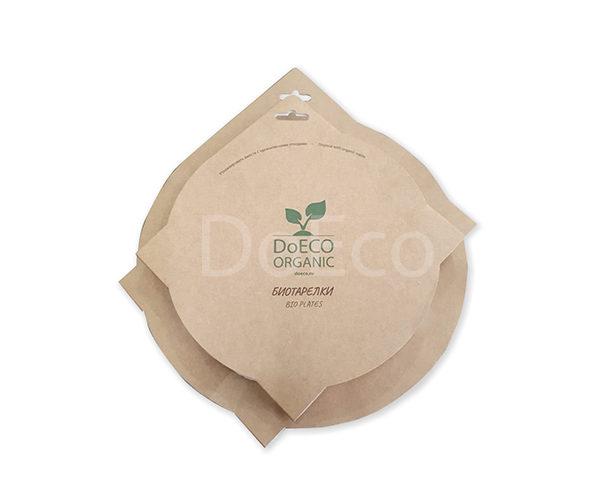 87654456 600x486 - Упаковка бумажных тарелок ECO PLATE 180 BIO SET с биоламинацией