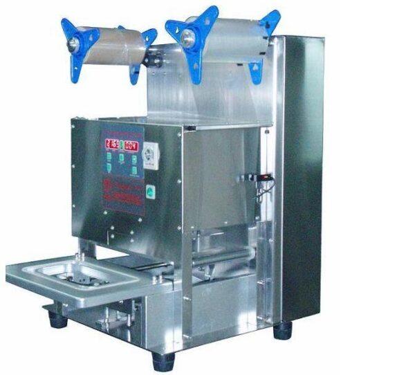 termo mach sa 600x542 - Автоматический аппарат TermoMach SA для запайки лотков и контейнеров